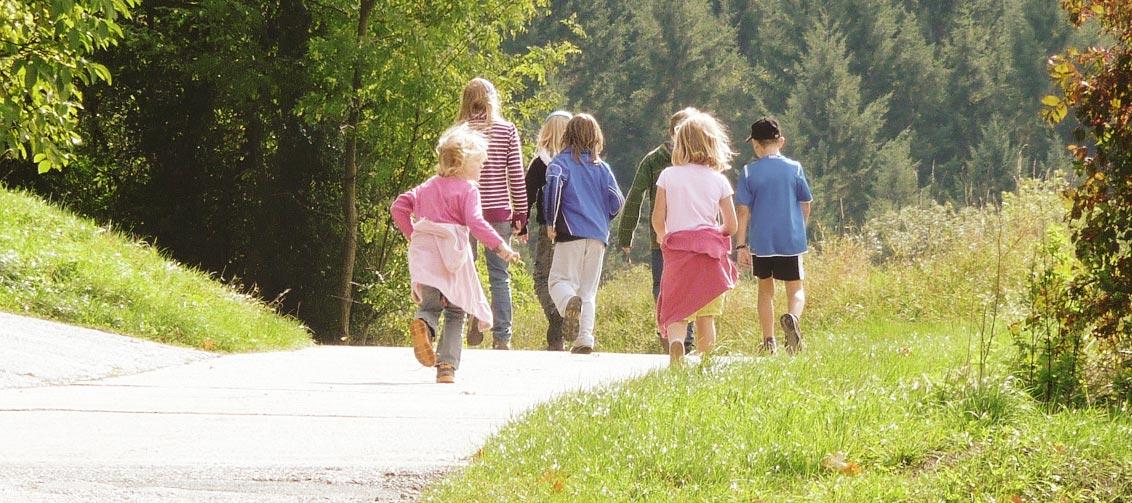 Kindergeburtstag in der Natur