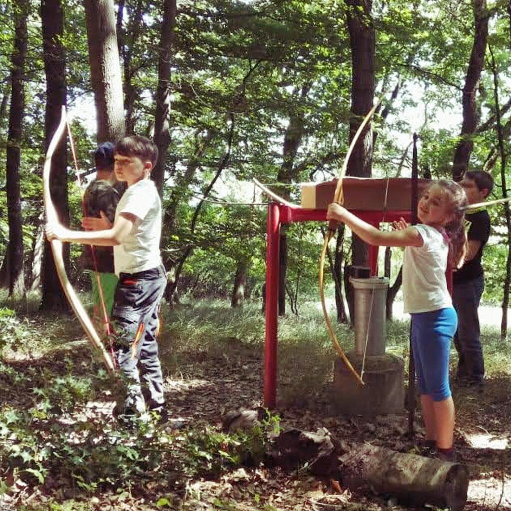 Bogenschießen_Kindergeburtstag_im_Wald